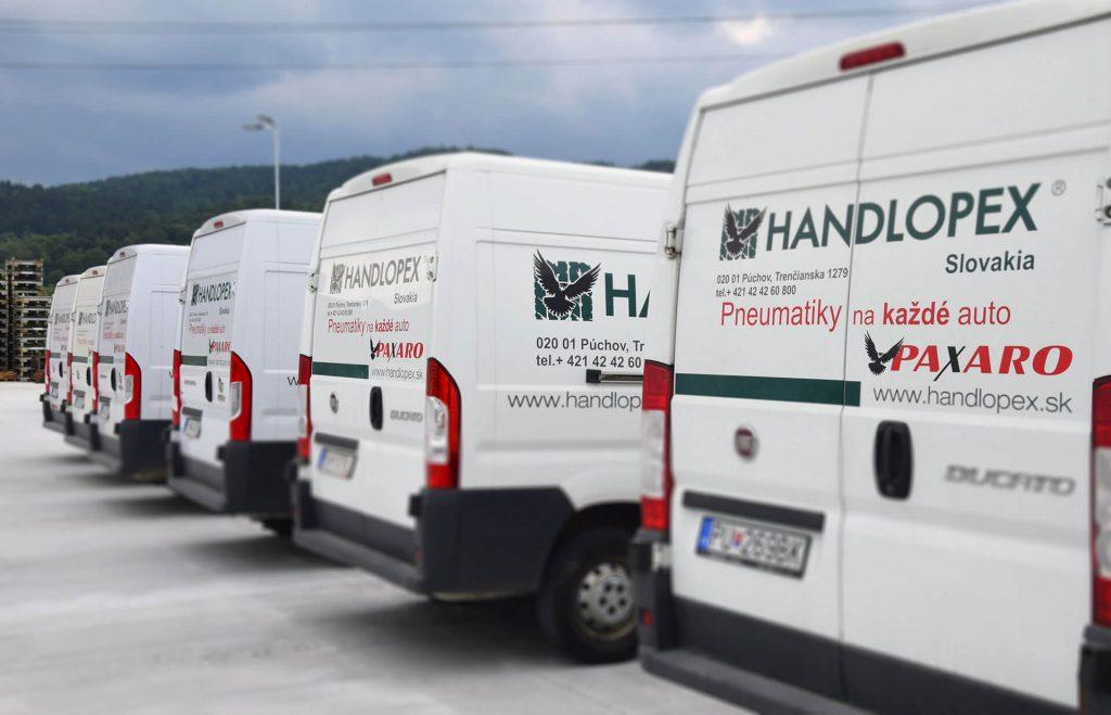 Handlopex Slovakia vlastná doprava